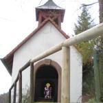 in Reisdorf steht die schöne Wendelinuskapelle