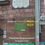 """in Imsbach ist das """"Pfälzische Bergbaumuseum"""""""