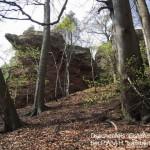 Drachenfels Ostseite