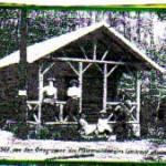 PWV-Hütte Lambertskreuz von 1907