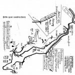 Wegeskizze zur Hütte Lambertskreuz