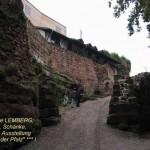Burgruine Lemberg, Aufgang