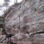 bei Lemberg sind dicke Felsen