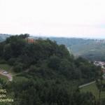 Blick auf die Burgruine Lemberg vom Rabenfels