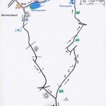 Wanderung zur Retzberghuette mit Wegeskizze