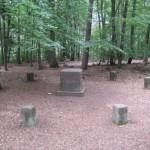 """Stumpfwaldgericht oder """"Rügegericht Neun Stühle"""" bei Alsenborn"""