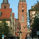 Neustadt mit dem Kirchturmhaus, Simultankirche