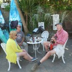 Concert in Mousehole on the south-west-coast-path