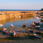 Mousehole harbour on the south-west-coast-path