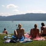 Walchensee mit Liegewiese