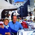 Wanderhans nebst Gattin in Venedig auf der großen Piazza