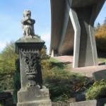 das Grab vom kleinen Johannes in Rinnthal
