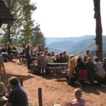 Jungpfalzhuette mit Aussichtsbalkon