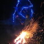 Jungpfalzhütte mit Schwedenfeuer