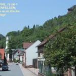 Rinnthal mit 4-Säulen-Kirche und Kostenfelsen
