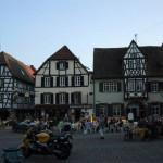 Neustadt a. W. mit dem schönen Marktplatz