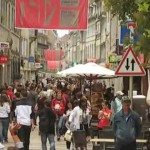 """Besancon beim """"Festival de la musique""""!"""