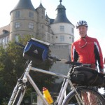 Chateau de Montbeliard mit Fernradler