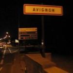 Avignon; Entrée mit dem Fahrrad