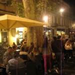"Avignon place nuit mit ""dolce vita"""