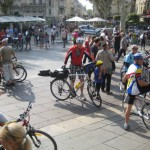 Radlertreff in Avignon