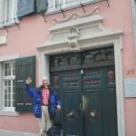 in Bonn steht Beethovens Geburtshaus, hier startet der Rheinsteig