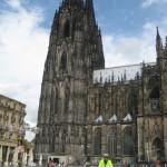 Köln, Dom mit Fernradler