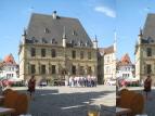 """im Rathaus von Osnabrück beschlossen sie den """"Frieden von Osnabrück"""" nach dem 30-jährigen Krieg"""